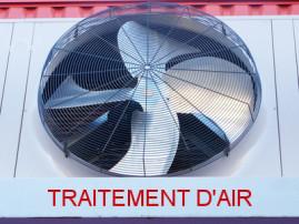 ventilateur pour traitement de l'air